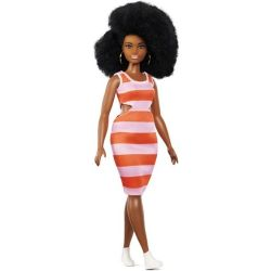 Fashionistas Barbie curly hair