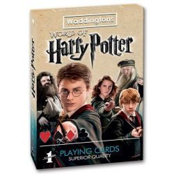 Harry Potter winning moves playing cards