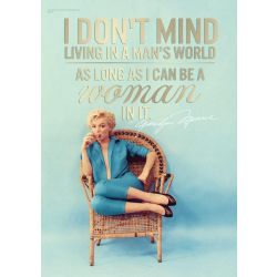 Marilyn Monroe Mighty Print Wall Art Framed