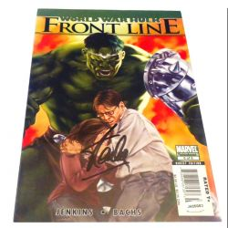 World War Hulk Frontline signed by Stan Lee