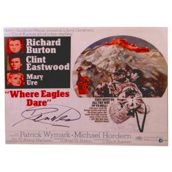 Where Eagles Dare Photo signed by Derren Nesbitt