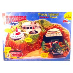 Thunderbirds Tracey Island Electronic Playset