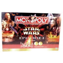 Hasbro Gaming Star Wars Episode 1 Monopoly Collector Edition