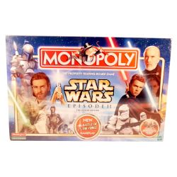 Hasbro Star Wars Episode 2 Monopoly Game