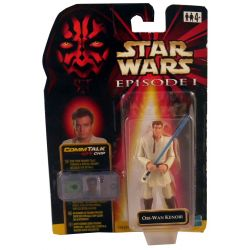 Star Wars Episode 1 Obi Wan Kenobi with comm talk chip
