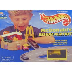 Hot Wheels Mac Donalds Drive in