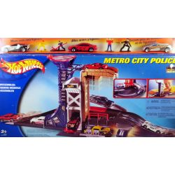 Hot Wheels Metro City Police cars