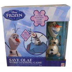 Save Olaf word guessing name
