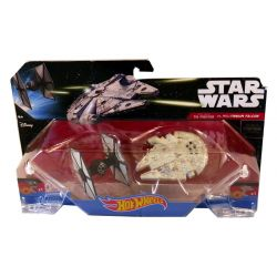 Star wars First Order Tie Fighter vs Millenium Falcon