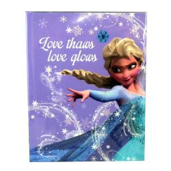 Frozen Diary with dazzling light Elsa