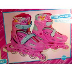 Barbie kids fitness skates