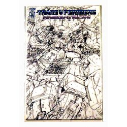 Transformers Megatron Origin ed. 2 sketch Variant Cover