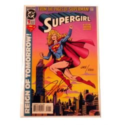Super girl vol 3 First ed. signed by Jackson Guice