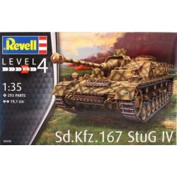 Tank Sd.Kfz. 167 StuG IV Model Kit Level 4 - 03255