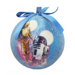 Star Wars Robot Ornament C 3PO and R2 D2