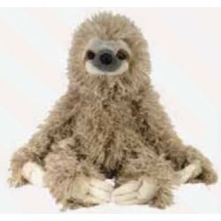 Wild Watchers Animal Plush Sloth Three Toed