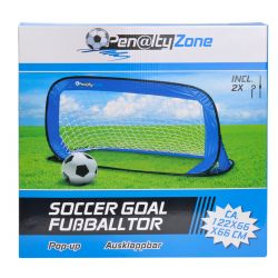 Pop up soccer goal