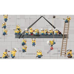Minions Sticker Wallpaper: 91x152 cm