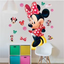 Minnie Mouse Sticker Wallpaper: 50 x 120 cm