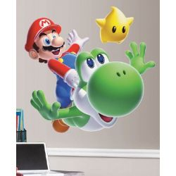 Wall Sticker Mario and Flying Yoshi