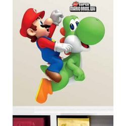 Wall Sticker Mario and Yoshi