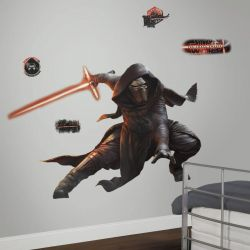 Star Wars Glow in the Dark Wall Sticker Kylo Ren