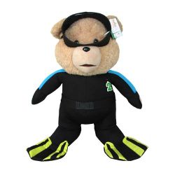 Movie Ted 2 Plush Talking Ted a big Teddy Bear in Scuba Outfit