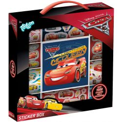 Cars Sticker box  more then 1000 stickers