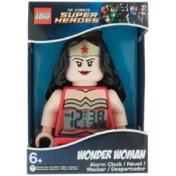 Lego Alarm clock Justice League Super Hero Wonder Woman