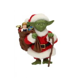 Star Wars Figure Yoda Santa Claus