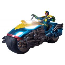 Demolition man Judge Dredd with Lawmaster Bike Exclusive