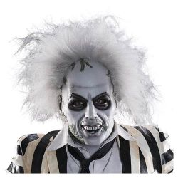 Beetlejuice Latex Mask with hair